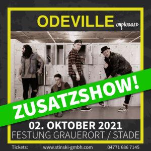 Odeville – Unplugged – Zusatzshow